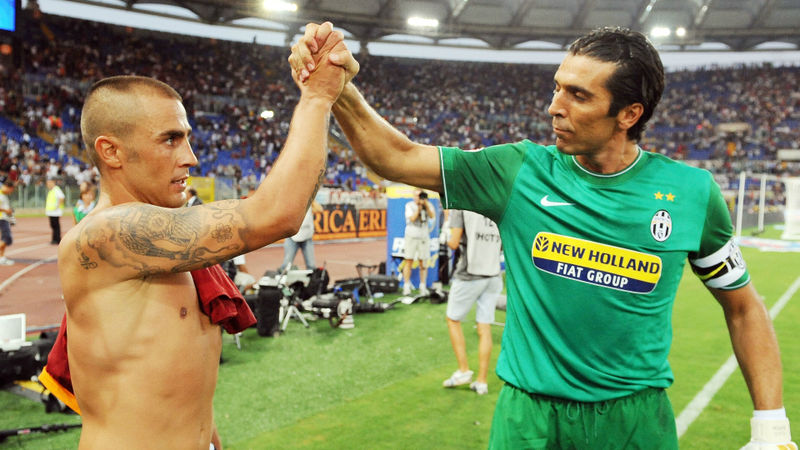 Buffon to leave Juventus: Cannavaro, Maldini and Ronaldo in goalkeeper's best team-mates XI