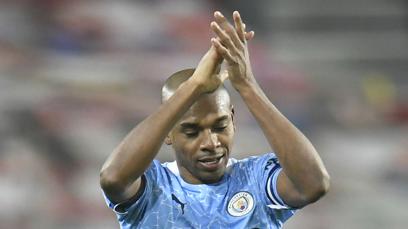 Man City win Premier League title 2020-21: Fernandinho eyes Champions League success