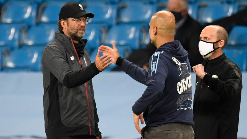 Klopp on Man City success: Guardiola and financial backing is a good recipe!