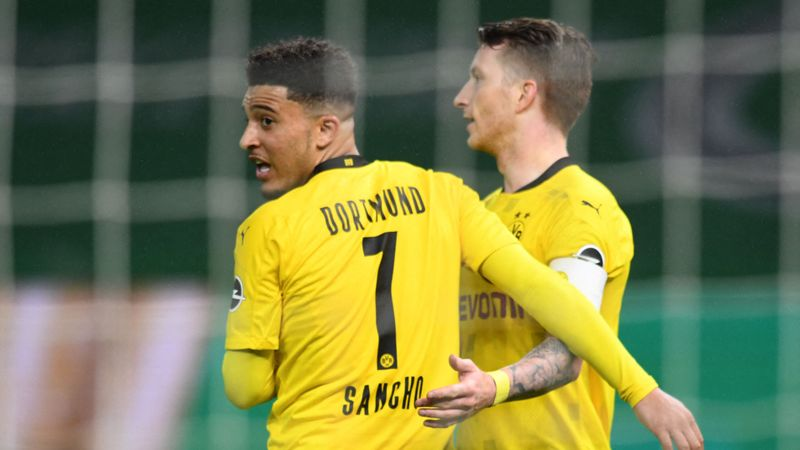 RB Leipzig 1-4 Borussia Dortmund: Sancho and Haaland strike twice in thrilling Pokal triumph