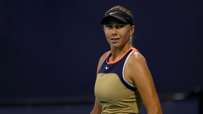 Anisimova on course for Venus after opening Parma victory