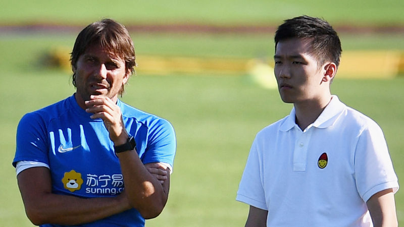 Conte set for face-to-face talks with Inter chief Zhang