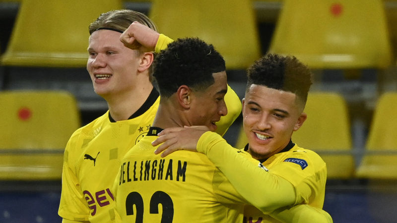 Sancho follows in Beckham footsteps, Bellingham thrilled as Dortmund seal Champions League spot