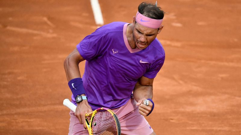 Nadal overcomes Djokovic to seal 10th Internazionali d'Italia title