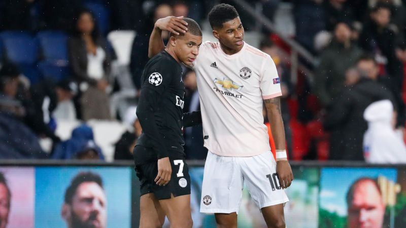 Mbappe and Rashford the present and future of football – Pogba