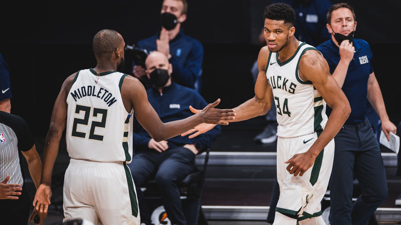 Bucks' Budenholzer delighted with 'big three' after rallying past Nets