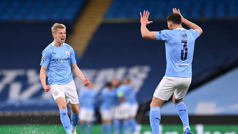 Man City come through blizzard of chaos to reach maiden Champions League final