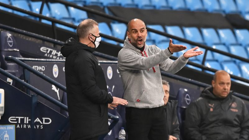 Guardiola fumes at officials as Man City pay penalty against Chelsea