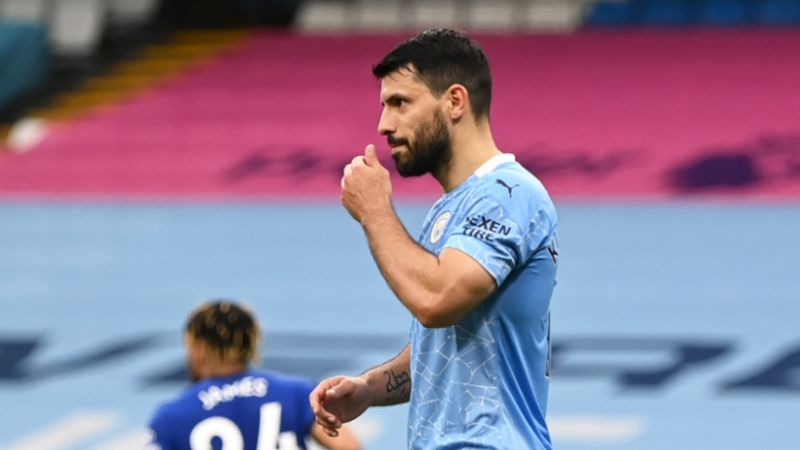 Aguer-woe! Sergio apologises for fluffed Panenka in Man City's defeat to Chelsea